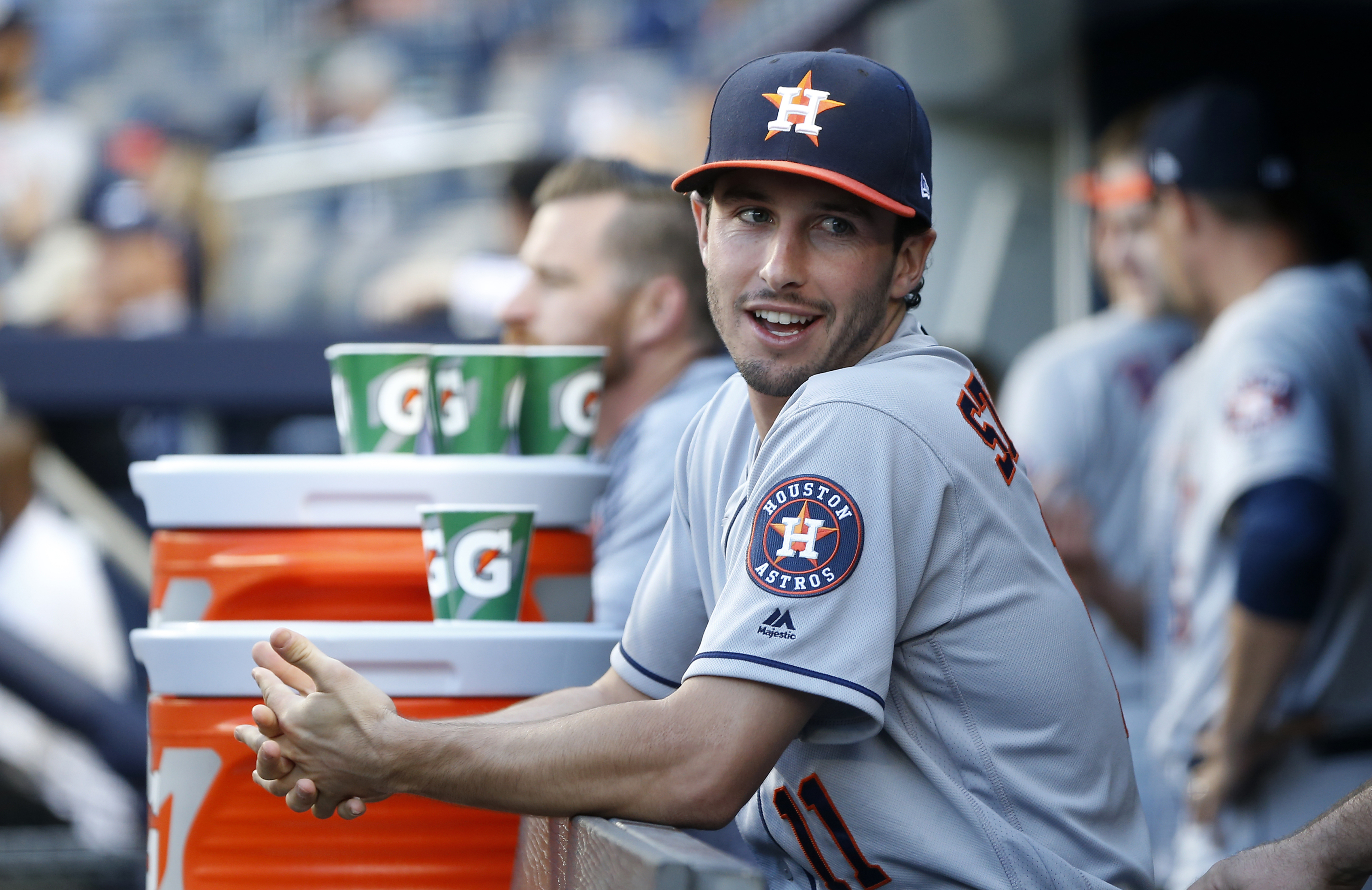 Astros: Garrett Stubbs working to be ideal 26th man