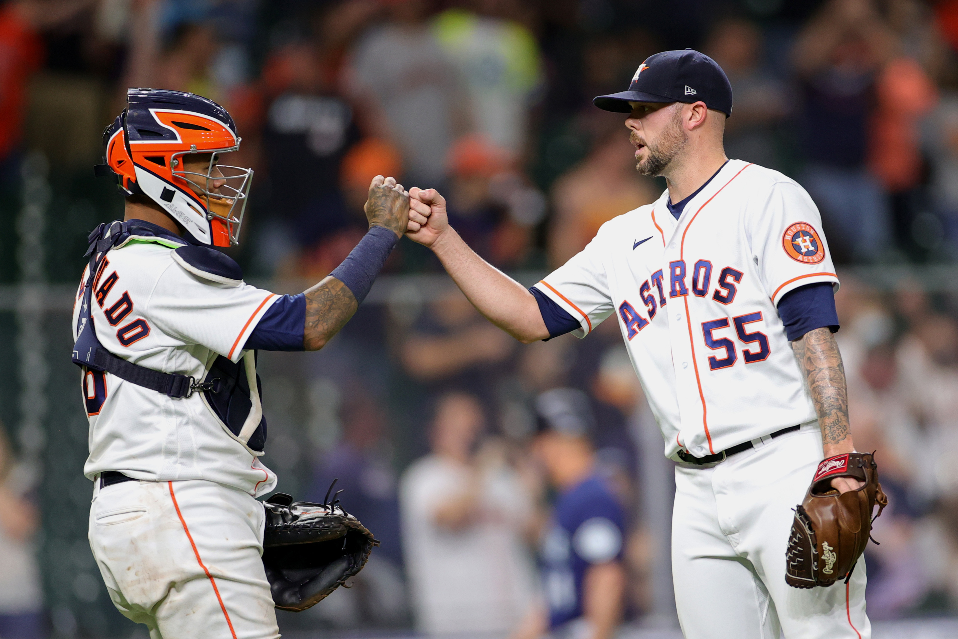 Astros: Ryan Pressly adapting well to closing role in 2021
